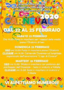 Carnevale a Iseo @ Iseo, Pilzone e Clusane | Lombardia | Italia