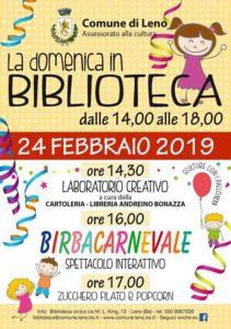 Carnevaleno - la domenica in biblioteca @  Biblioteca Civica Leno | Leno | Lombardia | Italia