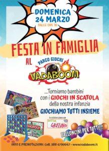 Festa in famiglia - Marzo al Vadaboom @ Vadaboom | Madonnina, Montichiari | Lombardia | Italia