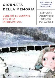 Giornata della memoria in biblioteca @ biblioteca Montirone | Montirone | Lombardia | Italia