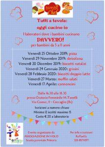 Tutti a tavola, oggi cucino io! @ Oratorio Femminile Coccaglio | Coccaglio | Lombardia | Italia