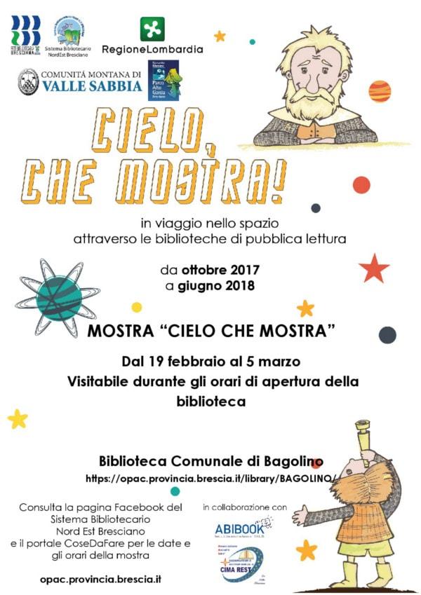Cielo che mostra - Bagolino @ Biblioteca Bagolino | Bagolino | Lombardia | Italia