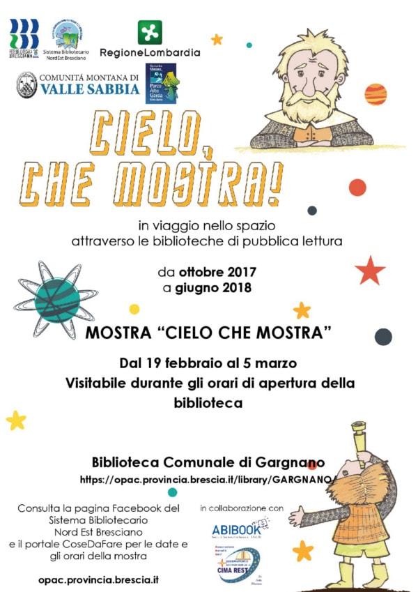 Cielo che mostra - Gargnano @ Biblioteca Gargnano | Gargnano | Lombardia | Italia