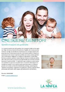 Crescere genitori in Ninfea @ Centro La Ninfea | Lonato | Lombardia | Italia