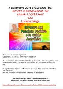 Il pensiero positivo e le guide angeliche @ Gussago | Gussago | Lombardia | Italia