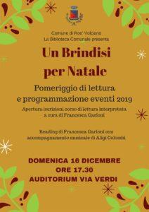Brindisi per Natale a Roè Volciano @ Biblioteca Roè Volciano | Lombardia | Italia