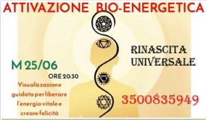 Serata di attivazione BIO-ENERGETICA @ Associzione Rinascita Universale | Gussago | Lombardia | Italia