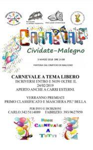 Carnevale a Malegno @ Malegno | Lombardia | Italia