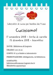 Tutti in cucina a Lograto @ Biblioteca di Lograto | Lograto | Lombardia | Italia