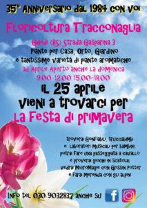 Festa di Primavera @ Tracconaglia Ghedi | Lombardia | Italia