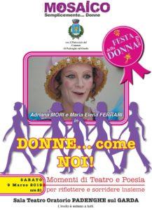 Festa della donna @ Sala Teatro Oratorio PADENGHE sul GARDA   Padenghe Sul Garda   Lombardia   Italia