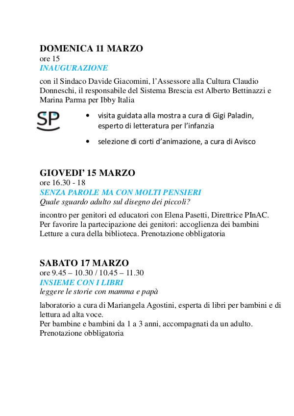 Senza Parole - Mostra e incontri a Rezzato @ Biblioteca di Rezzato | Rezzato | Lombardia | Italia
