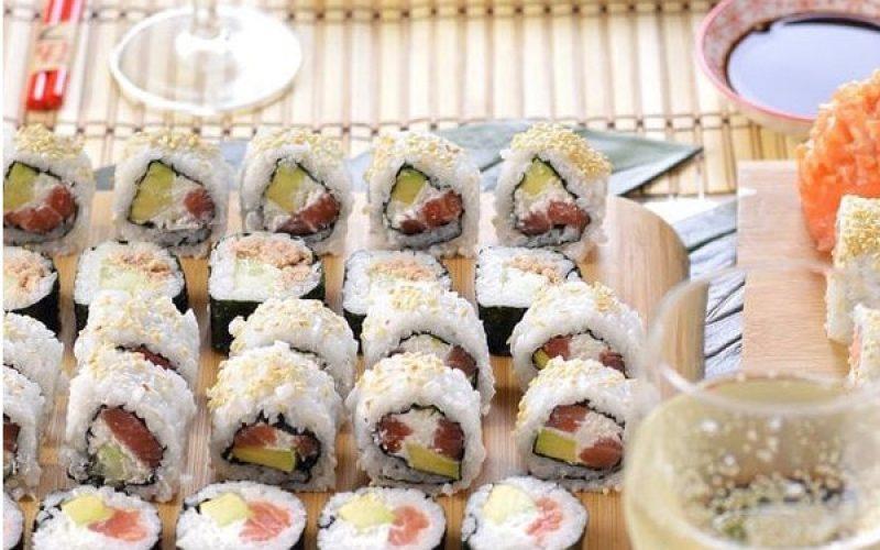 Sushi handmade