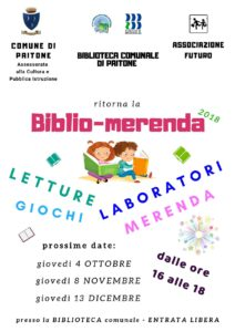 Biblio-merenda, letture, magia e fantasia @ Biblioteca di Paitone | Paitone | Lombardia | Italia