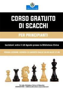 Corso di scacchi - livello principianti @ Biblioteca Manerbio | Manerbio | Lombardia | Italia