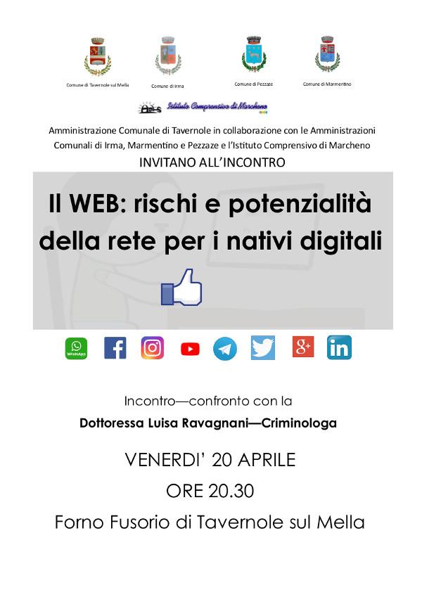 Rischi e potenzialità della rete @ Tavernole sul Mella - Museo Il Forno | Tavernole sul Mella | Lombardia | Italia