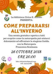 Come prepararsi all'inverno @ Biblioteca di Casto | Casto | Lombardia | Italia