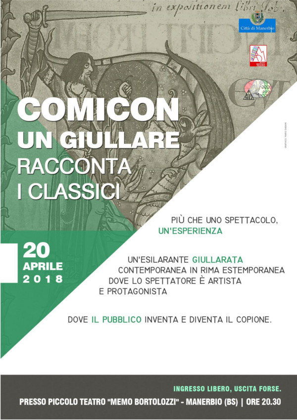 Comincon un giullare @ Teatro Bortolozzi Manerbio | Manerbio | Lombardia | Italia