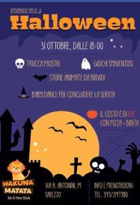 Halloween da Hakuna Matata @ Hakuna Matata | Sarezzo | Lombardia | Italia