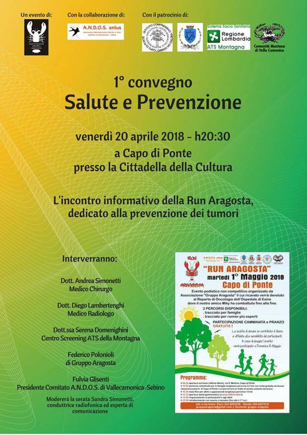 Salute e prevenzione @ Cittadella della Cultura Capo di Ponte | Capo di Ponte | Lombardia | Italia