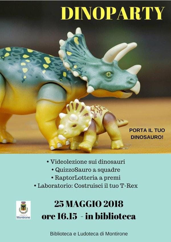 Dinoparty @ BIblioteca di Montirone | Montirone | Lombardia | Italia