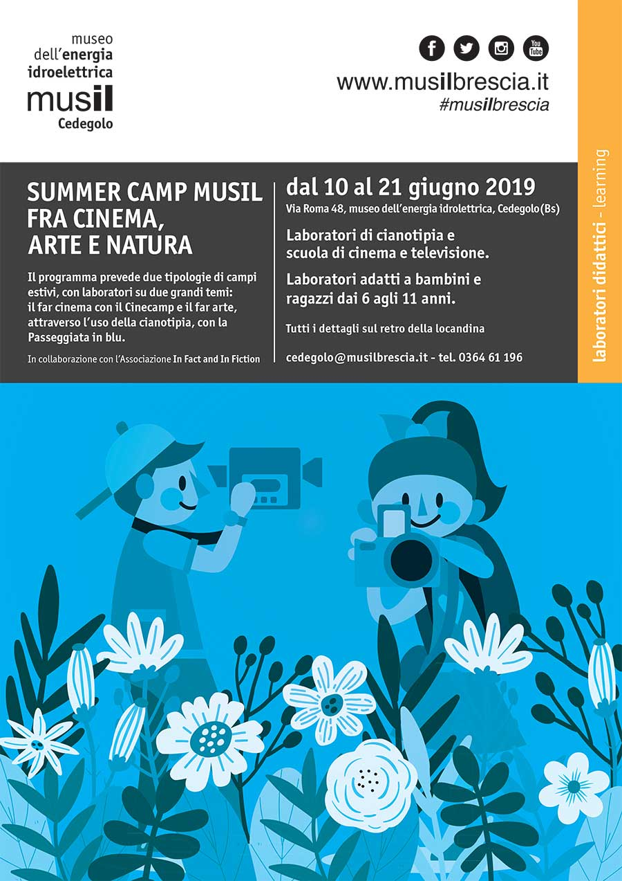 Summer Camp Musil – fra Cinema, Arte e Natura