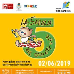 Le 5 miglia del Ghiottone a Tremosine @ partenza Vesio, Località Pertica  | Lombardia | Italia