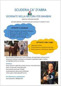 Giornate nella natura per bambini @ Scuderia Cà D'Abra Puegnago | Puegnago del Garda | Lombardia | Italia