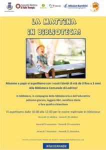 La mattina in biblioteca - Lodrino @ Biblioteca di Lodrino | Villa | Lombardia | Italia
