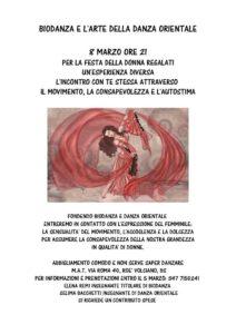 Biodanza e danza orientale @ MAT Roè Volciano | Capodimonte | Lombardia | Italia