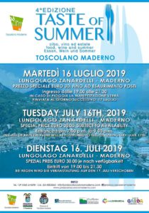 Taste of Summer @ Lungolago Zanardelli Toscolano Maderno BS | Toscolano Maderno | Lombardia | Italia