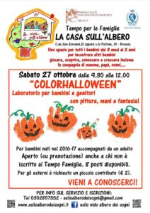 ColorHalloween @ Asilo nido L'albero dei sogni | Brescia | Lombardia | Italia