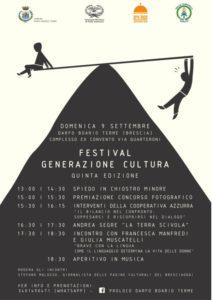 Festival Generazione Cultura @ ex Convento Darfo Boario Terme | Darfo Boario Terme | Lombardia | Italia