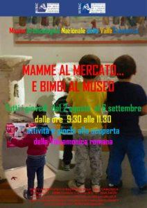 Mamme al mercato e bimbi al Museo @ Museo Nazionale Archeologico di Cividate Camuno | Cividate Camuno | Lombardia | Italia