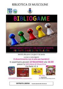 Biblio-game a Muscoline @ Biblioteca di Muscoline   Muscoline   Lombardia   Italia