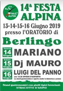 Festa alpina a Berlingo @ Centro sportivo Berlingo | Berlingo | Lombardia | Italia