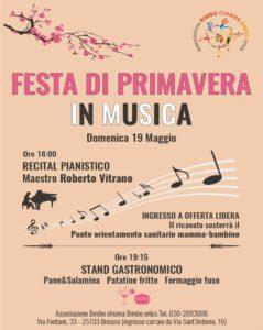 Festa di primavera in musica @ presso il salone della Novalis Open School | Brescia | Lombardia | Italia