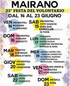 Festa del volontario a Mairano @ Mairano | Mairano | Lombardia | Italia