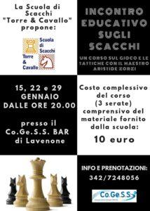 Matti per gli scacchi @ Co.Ge.SS Bar | Crone | Lombardia | Italia