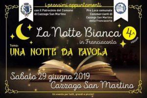 Notte bianca in Franciacorta @ Cazzago S. Martino | Cazzago San Martino | Lombardia | Italia