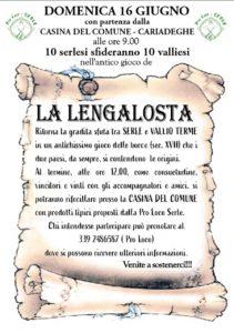 Lengalosta @ località Cariadeghe, presso la Casina del Comune | Serle | Lombardia | Italia