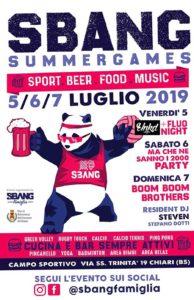 Sbang summer games @ Campo Sportivo Comunale Chiari | Chiari | Lombardia | Italia