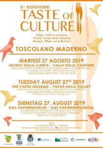Taste of Culture @ Museo della Carta di Toscolano Maderno | Toscolano Maderno | Lombardia | Italia