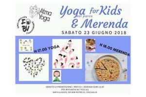 Yoga for kids e merenda a Coccaglio @ Parco di Coccaglio | Coccaglio | Lombardia | Italia