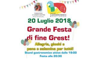 Festa di fine Grest @ oratorio di Montirone | Montirone | Lombardia | Italia