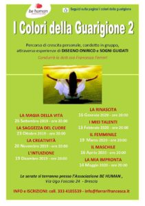 I colori della guarigione @ Associazione Be Human | Brescia | Lombardia | Italia