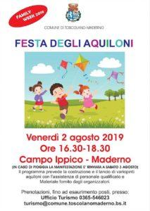 Festa degli aquiloni a Toscolano @ Ex campo ippico Maderno | Lombardia | Italia