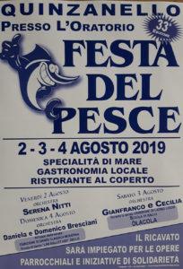 Festa del pesce @ oratorio Quinzanello | Quinzanello | Lombardia | Italia