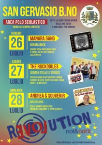 Not&Notti Revolution a San gervasio Bresciano @ San Gervasio | San Gervasio Bresciano | Lombardia | Italia
