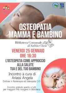 Osteopatia mamma e bambino @ Biblioteca Sabbio Chiese | Sabbio Chiese | Lombardia | Italia